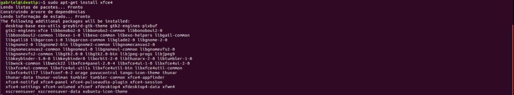 Veja como instalar o XFCE no ubuntu e derivados | Ambientes gráficos